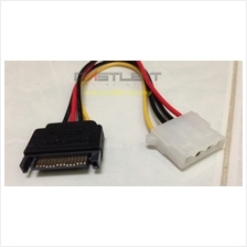 OEM Extension Cable 15-pin SATA Male To 4-pin Molex Female CA215