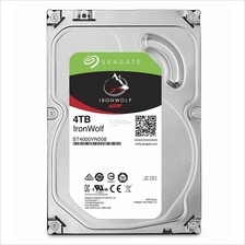SEAGATE HDD INT 3.5' NAS IRONWOLF 4TB SATA3 64MB (ST4000VN008)