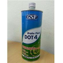 GSP Dot 4 Brake Fluid (1 Liter) *Made In Japan