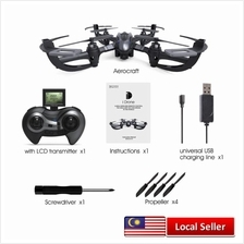 I4S 2MP CAMERA 2.4GHZ 4 CHANNEL 6 AXIS GYRO QUADCOPTER 3D ROLLOVER RTF