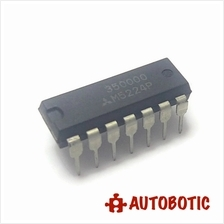 DIP-14 IC (M5224P) Quad Single Power Supply Operational Amplifiers