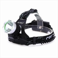 DC 5V 10W 800LM 3 MODES RECHARGEABLE LED HEADLAMP (BLACK)