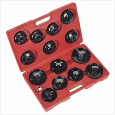 Sealey Oil Filter Cap Wrench Set 15pc)