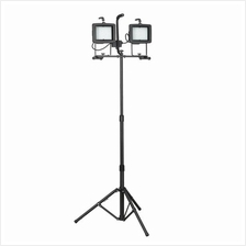 Sealey LED130TD 2 x 130 LED Telescopic Floodlight (230V)