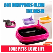Pet supplies. Cat feces cleanup.Semi-enclosed deodorant clean litter b