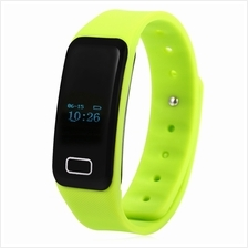 X6 HEART RATE MONITOR BLUETOOTH 4.0 SMART WRISTBAND (GREEN)