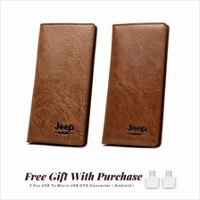 Jeep Buluo 10 Card Holder Stylish Unisex Long Wallet - A0246