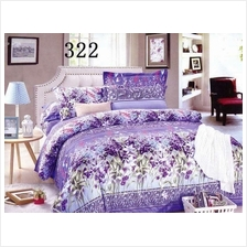 QUEEN SIZE FITTED BEDDING SET / 3PCS / LAVENDAR