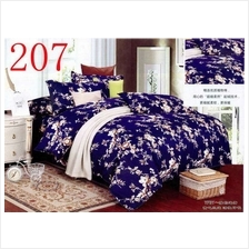 QUEEN SIZE FITTED BEDDING SET / 3PCS / STRIPE