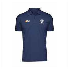 BMW M (germany Colours) Cotton Polo Shirt