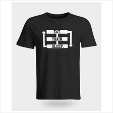 Eat Sleep Repeat Gym T-Shirt