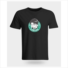 Attack on Titan 'LEVI Starbucks Style' T-Shirt