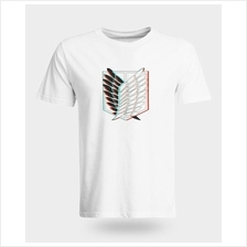 Attack on Titan Survey Corps 3D effect T-Shirt