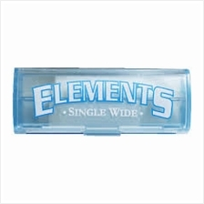 Elements Plastic Holder single Wide Cigarette Paper roll 5m