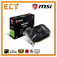 MSI GeForce\u00ae GTX 1050 Aero ITX 2G OC Edition Graphics Card