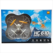 Large HC-610 20cm Drone 6-Axis Gyro 4 CH RC Quadcopter Kids toy