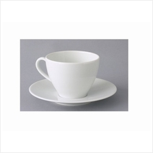 IKEA VARDERA Coffee Cup And Saucer White 20cl