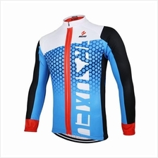 63f6f3dad ARSUXEO Men s Cycling Jersey Bike Bicycle Long Sleeves MTB Jersey