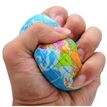 World globe map price harga in malaysia funny world map globe foam stress relief bouncy ball gumiabroncs Choice Image
