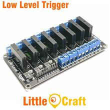 8 Channel 5V SSR Solid State Relay - Low Level Trigger