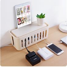 Plug Socket Anti-dust Storage Box Cable Wire Cord Organizer