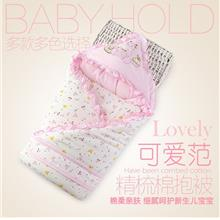 Baby Holding Cotton Towel Baby Thin Blanket Sleeping Bag Newborn