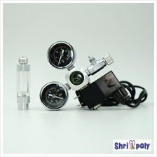 Aquarium Accessories Mufan Co2 Regulator With Solenoid Single Valve
