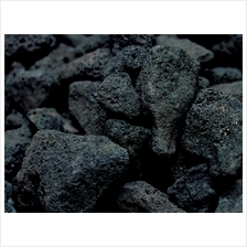 Aquarium Hardscape Black Lava Rock 1Kg for Decoration Bacteria House