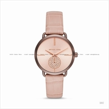 MICHAEL KORS MK2721 Women's Portia Glitz Small-Second Leather Blush