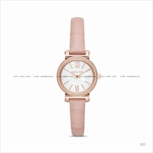 MICHAEL KORS MK2715 Women's Sofie 2-hand Glitz Leather Strap Blush