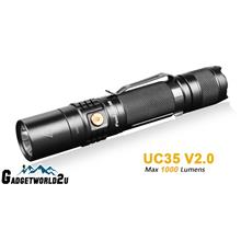 Fenix UC35 V2.0 Rechargeable CREE XP-L HI V3 LED 1000L Flashlight