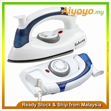 Sokany 6047 Portable Mini Travel Steam Iron Garment Steamers Foldable