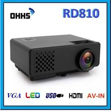 [ 1 Year Warranty ] OHHS RD810 LED HDMI Mini 1000 Lumens Projector