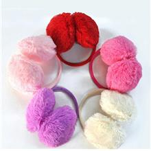 Winter Women Round Fluffy Faux Fur Earmuffs Ear Warmer Ear Muffs Earfl