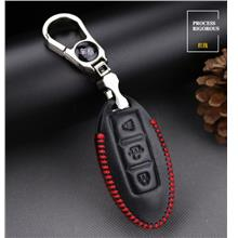 Nissan XTrail XGear Livina Keyless Remote Hand-Sewn Leather Key Cover