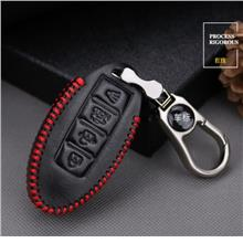 Nissan Almera Teana Keyless Remote Hand-Sewn Leather Key Cover