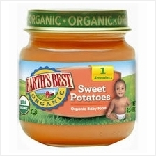 Earth's Best: Organic Sweet Potatoes (Stage 2 - From 6 Months) 4oz -)