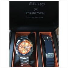 SEIKO SRPC95K1 Prospex Men's Turtle Diver Auto Dual Bands Orange LE