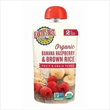 Earth's Best: Organic Banana  & Raspberry Brown Rice Fruit  & Grain 2 )