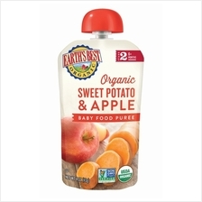 Earth's Best: Organic Sweet Potato  & Apple Puree (Stage 2 - From 6 -)