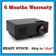 [ 6 Months Warranty ] RD810 LED HDMI Mini 1000 Lumens Projector