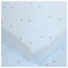 "Comfy Living - Fitted Sheet 24""x48"" - Light Blue - 20% OFF!!)"