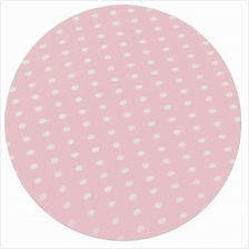 "Comfy Living - Fitted Sheet 24""x48"" - Pink Dot - 20% OFF!!)"