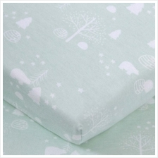 "Comfy Living - Fitted Sheet 24""x48"" - Green Bear - 20% OFF!!)"