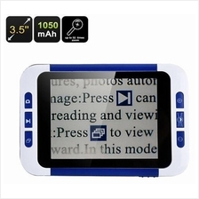 32x Zoom Portable Digital Magnifier With LCD (PDM-35) ★