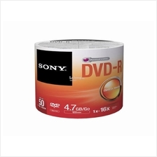 SONY Media Disc DVD-R 16X (50DMR47SB) SPINDLE 50pcs