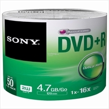 SONY Media Disc DVD+R 16X (50DPR47SB) SPINDLE 50pcs