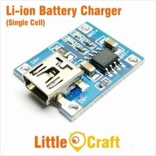 TP4056 Single Cell 1A Li-ION Battery Charger Module - Mini USB