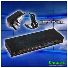 Universal HDMI Digital Audio Decoder HDMI TO HDMI VGA For TV Box Proje