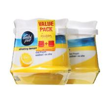Ambi Pur Refreshing Lemon Gel Fresh 2 x 180g